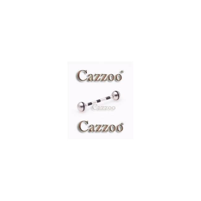 TP274 Tunge Piercing og kugler i kirurgisk stål
