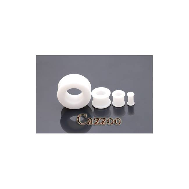 PL31 Hvid Silikone Flexible Plug 4mm - 12mm
