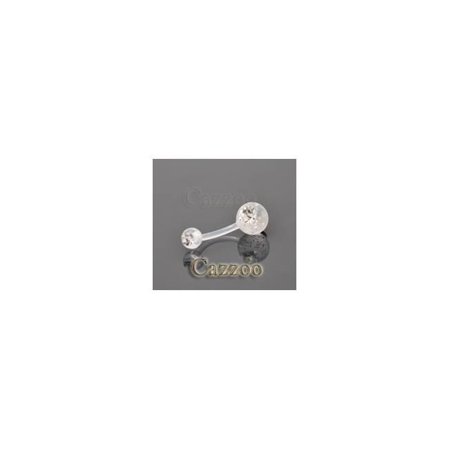 NPF827 Flexibel navle piercing