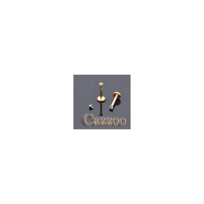 LAB41 Anodized guld farve internal Labret piercing