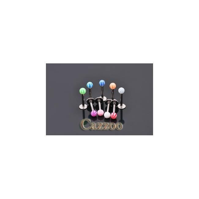 LAB57 Labret piercing med kugle