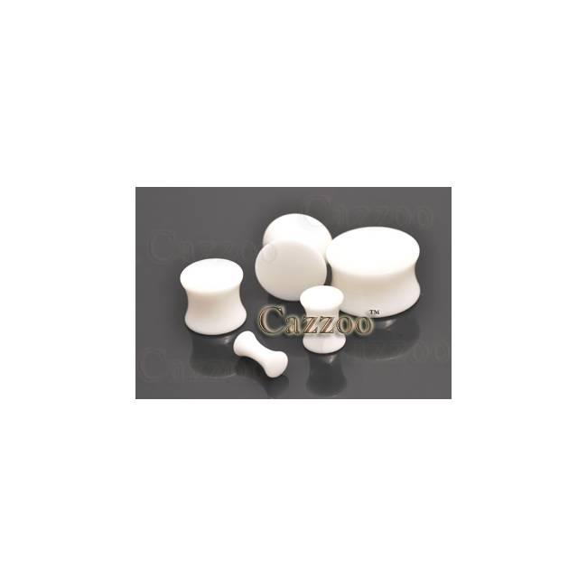 PL71 Hvid Acrylic plugs