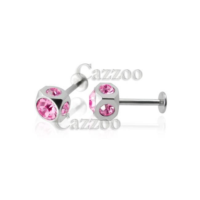 STE144 Labret piercing