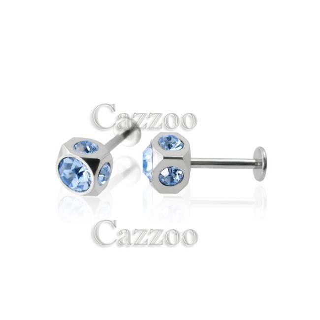 STE145 Labret piercing