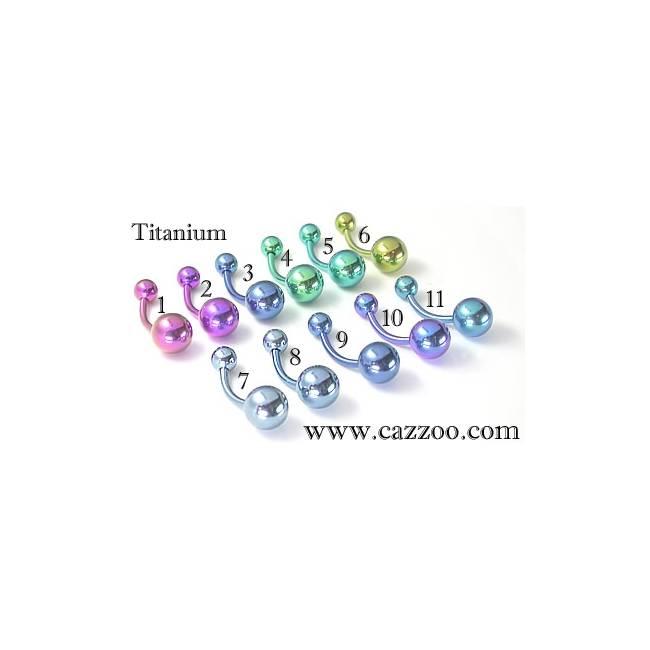 TIT-NP-1004 Titanium Navle piercing