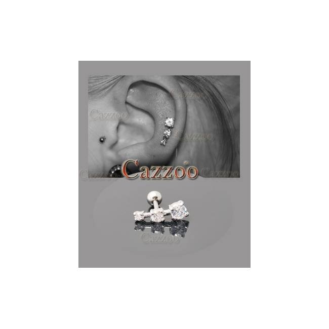 Ørepiercing smykker huller ørerne