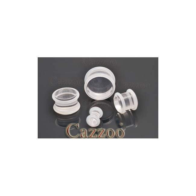 PL129 Klar Acrylic plugs
