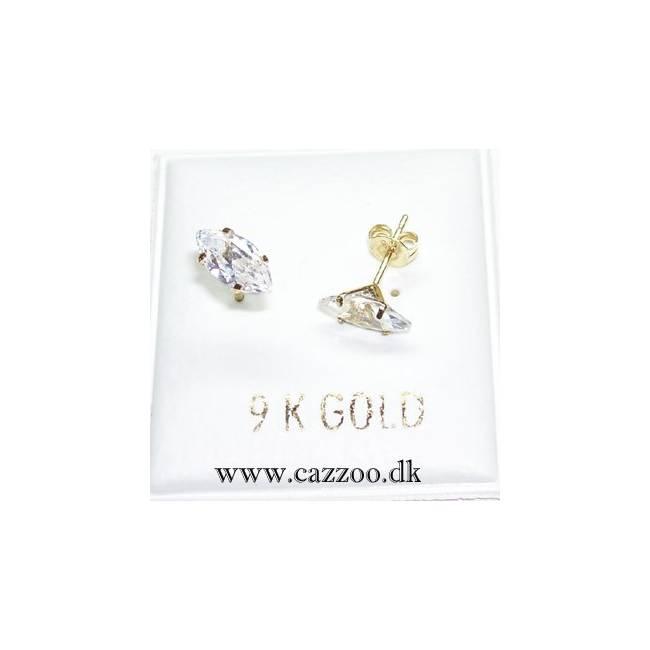 GE2570-3 9kt guld ørestikker