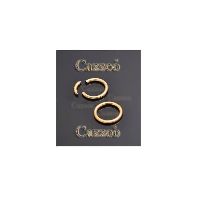 SG1 Piercing ring til øjenbryn bryst øre næse intim 8mm