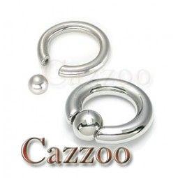 CP18 captive piercing smykker ring 6mm