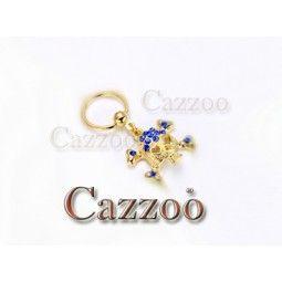 CP23 Guldfarve captive piercing med vedhæng