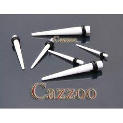 TAP29 Acrylic Tapers stretch smykker til 8mm