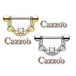 bryst piercing smykker nipple piercinger