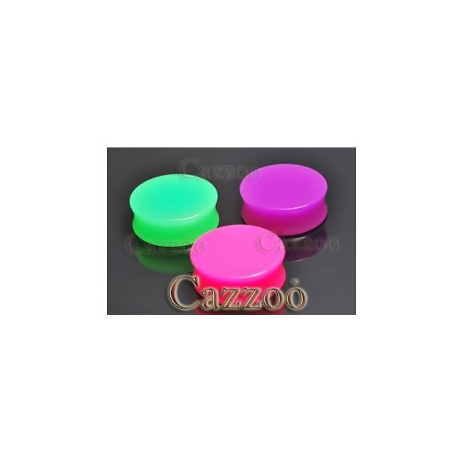 PL163 acrylic saddle plug 26mm